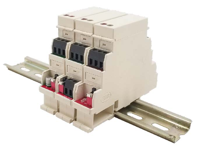DIN Rail Mount Relay in a Box